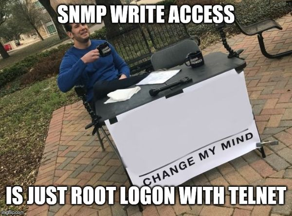 SNMP ACL (after community check?!)